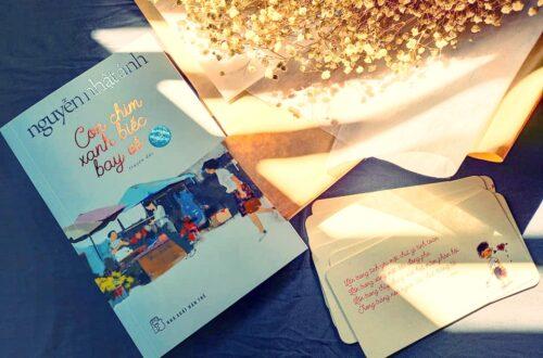 sách con chim xanh biếc bay về Nguyễn Nhật Ánh